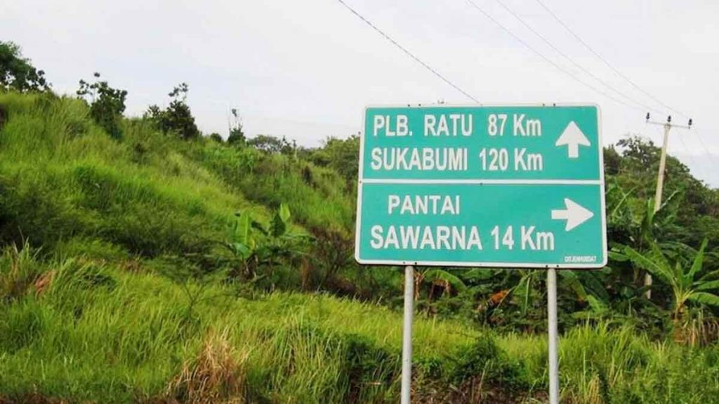 Rute Pantai Sawarna By Travel Backpacker